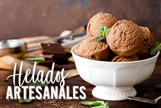 HELADOS ARTESANALES Y POSTRES HELADOS