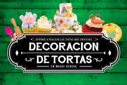 DECORACIÓN DE TORTAS INTENSIVO
