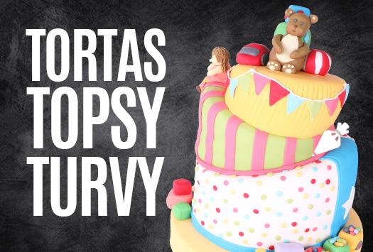 Tortas Topsy Turvy