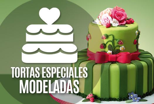 Tortas especiales modeladas