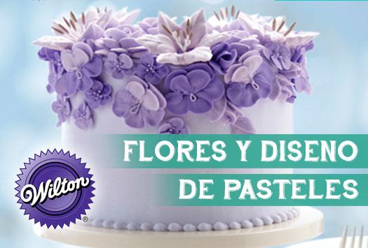 Flores y Diseño de Pasteles – Metodo Wilton
