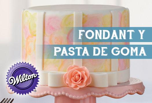 Fondant y Pasta de Goma – método Wilton