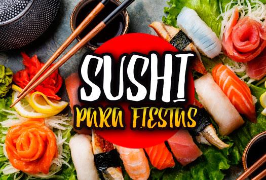 Sushi para Fiestas