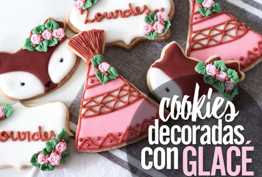 COOKIES DECORADAS CON GLACÉ
