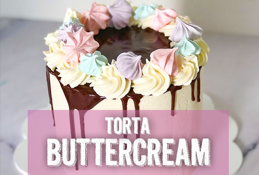 TORTA DE BUTTERCREAM