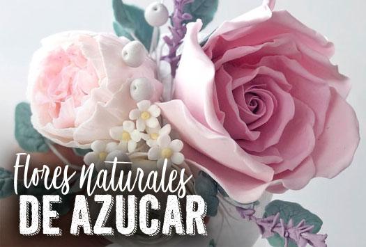 FLORES NATURALES DE AZUCAR