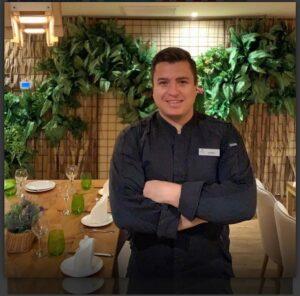 Alejandro Tovar, ex alumno de Mausi, nominado a mejor jefe de Cocina.