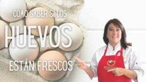 ¿Como saber si los huevos están frescos?