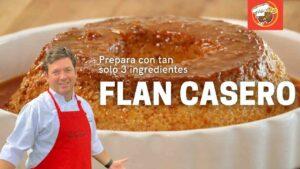 Prepara un Flan Casero con solo 3 ingredientes